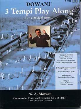 Concerto Flûte KV 313 sol maj. MOZART Partition laflutedepan