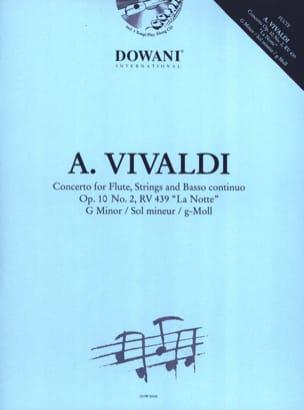 Concerto Flûte-Cordes et Bc Op.10 N° 2 - Rv. 439 - laflutedepan.com