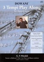 HAENDEL - Sonate N°1 Hallenser En la Min. - Partition - di-arezzo.fr