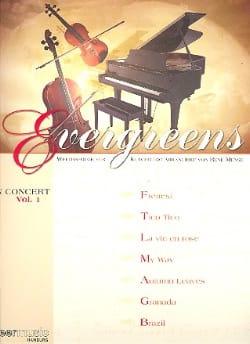 - Evergreens In Concert Volume 1 - Sheet Music - di-arezzo.com