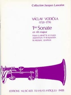 Vaclav Vodicka - Sonata No. 1 in major Bb - Sheet Music - di-arezzo.co.uk