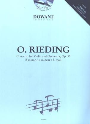 Oskar Rieding - Violin Concerto Op. 35 in B minor - Sheet Music - di-arezzo.co.uk