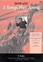 Concerto Violon et Piano op. 13 n° 2 sol maj. - CD - laflutedepan.com