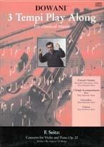 Friedrich Seitz - Concerto per violino e pianoforte op. 22, re maggiore - Partitura - di-arezzo.it