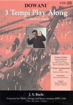 BACH - Concerto Violon BWV 1042 mi maj. - CD - Partition - di-arezzo.fr