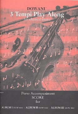 - 3 Tempi play along for classical music / Piano Accomp. - Sheet Music - di-arezzo.co.uk