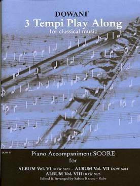 - Album n° 6-7-8 - Score accompagnement piano - Partition - di-arezzo.fr