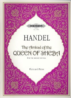 HAENDEL - The arrival of the Queen of Sheba - Flute - Partition - di-arezzo.fr