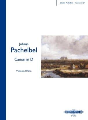 Johann Pachelbel - キャノンインD - ヴァイオリン - 楽譜 - di-arezzo.jp