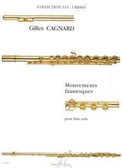 Mouvements Faunesques - Gilles Cagnard - Partition - laflutedepan.com