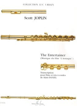 The Entertainer - Flûte et trio à cordes JOPLIN Partition laflutedepan