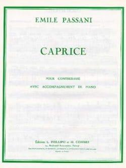 Emile Passani - Caprice - Partition - di-arezzo.fr