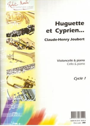 Claude-Henry Joubert - Huguette and Cyprien .... - Sheet Music - di-arezzo.com