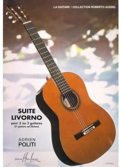 Adrien Politi - Suite Livorno - Partition - di-arezzo.fr