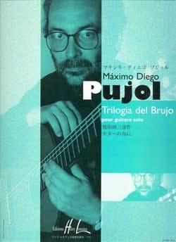 Trilogia del Brujo Maximo Diego Pujol Partition Guitare - laflutedepan
