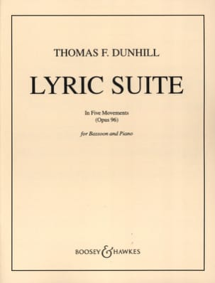 Thomas Frederick Dunhill - Lyric suite op. 96 - Sheet Music - di-arezzo.com