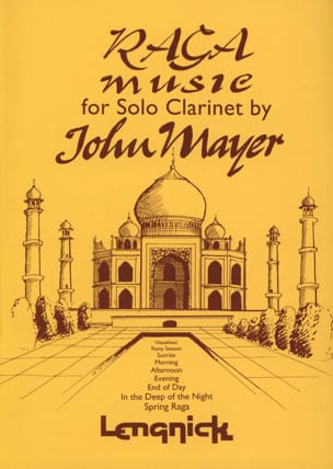Raga Music For Solo Clarinet - John Mayer - laflutedepan.com
