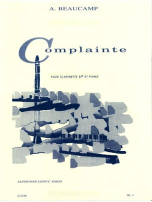 Albert Beaucamp - Complainte - Partition - di-arezzo.fr