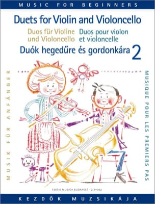 Pejtsik Arpad / Vigh Lajos - Duets for Violin and Cello Volume 2 - Partition - di-arezzo.fr