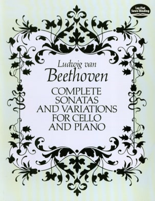Ludwig Van Beethoven - Complete sonatas and variations for cello and piano – Full Score - Partition - di-arezzo.fr