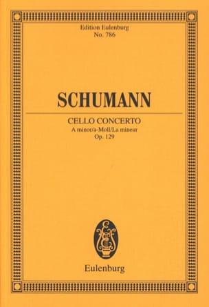SCHUMANN - Violoncello-Konzert A-Moll, Op. 129 - Conductor - Sheet Music - di-arezzo.co.uk