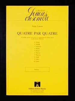 Serge Lancen - Quatre par Quatre – Violons - Partition - di-arezzo.fr