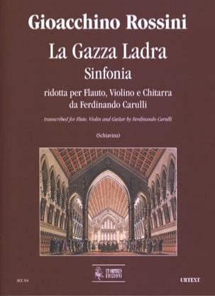 Gioachino Rossini - La Gazza Ladra - Sinfonia - Partition - di-arezzo.fr