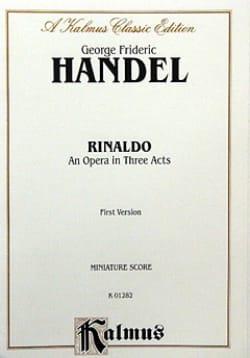 Rinaldo - Score HAENDEL Partition Petit format - laflutedepan