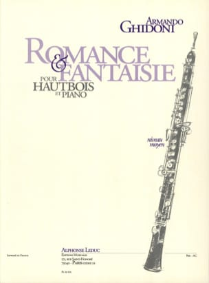 Armando Ghidoni - Romance and Fantasy - Sheet Music - di-arezzo.com