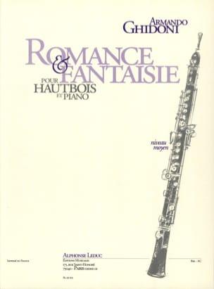 Armando Ghidoni - Romance et Fantaisie - Partition - di-arezzo.fr