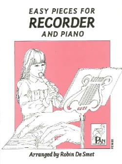 Smet Robin De - Easy pieces for Recorder and Piano - Partition - di-arezzo.fr