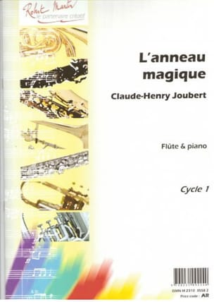 Claude-Henry JOUBERT - The Magic Ring - Flute and Piano - Sheet Music - di-arezzo.co.uk