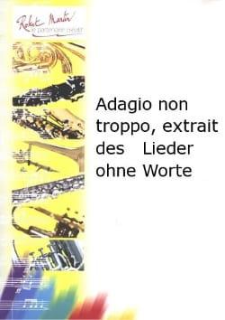 Adagio non troppo - Hautbois - MENDELSSOHN - laflutedepan.com