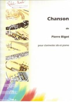 Pierre Bigot - Chanson - Partition - di-arezzo.fr