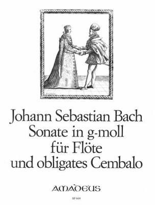 Sonate N° 7 en Sol Mineur BWV 1020 BACH Partition laflutedepan