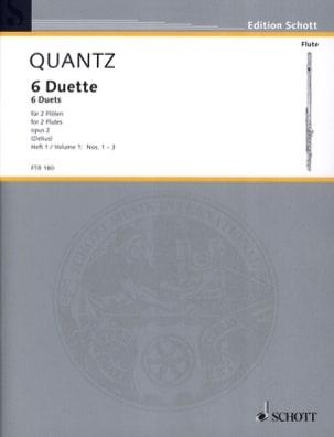 6 Duette op. 2 - Heft 1 Nr. 1-3 - 2 Flöten laflutedepan