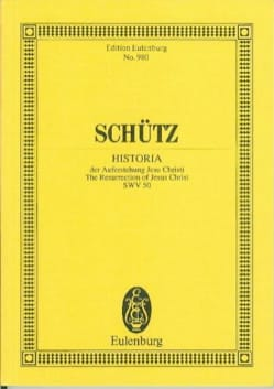 Auferstehungs-Historie - SCHUTZ - Partition - laflutedepan.com