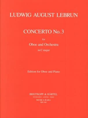 Concerto En C N° 3 - Ludwig August Lebrun - laflutedepan.com