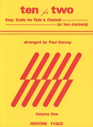 Ten for Two - Volume 1 Paul Harvey Partition Duos - laflutedepan