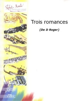 3 Romances Denise Roger Partition Clarinette - laflutedepan