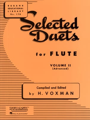 - Selected Duets for Flute - Volume 2 - Partition - di-arezzo.fr