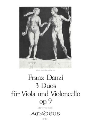 Franz Danzi - 3 Duets for viola and violoncello op. 9 - Buch 2 - Sheet Music - di-arezzo.co.uk
