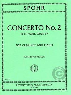 Louis Spohr - クラリネット協奏曲第2番Ebメジャーオペラ。 57 - 楽譜 - di-arezzo.jp