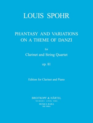Louis Spohr - Fantaisie et Variations op. 81 - Partition - di-arezzo.fr