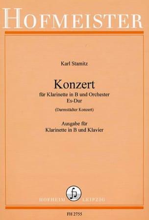 Carl Stamitz - Konzert Es-Dur Darmst. Kzt. - Klavier Klavier - Partitura - di-arezzo.es