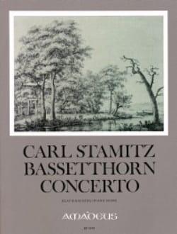 Concerto für Bassetthorn - Carl Stamitz - Partition - laflutedepan.com