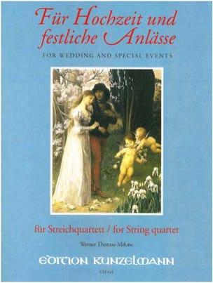 Für Hochzeit und festliche Anlässe - String Quartet laflutedepan