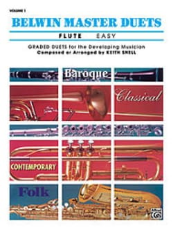 Keith Snell - Belwin Master Duets, Volume 1 Easy Flute - Sheet Music - di-arezzo.co.uk