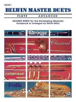Belwin Master Duets, Volume 1 Flute Advanced Keith Snell laflutedepan