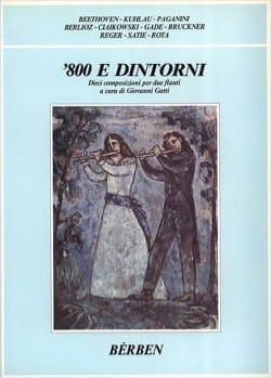 800 E Dintorni - 2 Flûtes - Partition - laflutedepan.com
